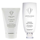 Crystal Clear Skincare Exfoliants And Masks
