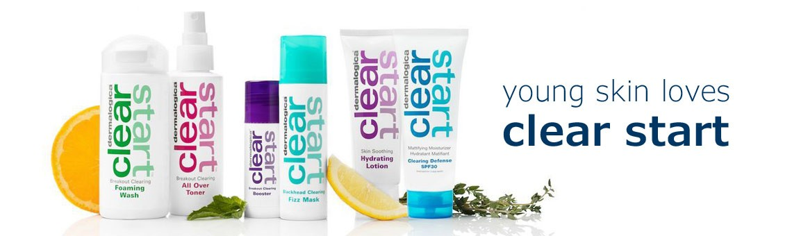 young skin loves clear start