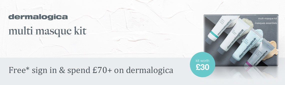 Free when you sign in and spend £70+ on dermalogica