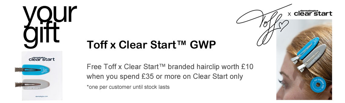 GWP - Toff x Clear Start Hair Clips