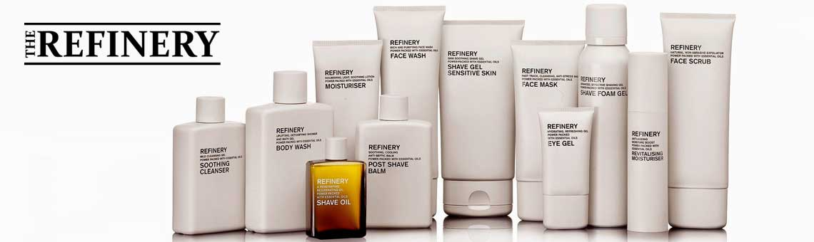 The Refinery skincare for men