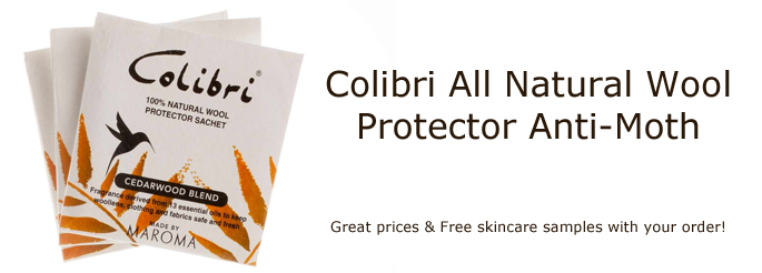 Colibri All Natural Wool Protector Anti Moth