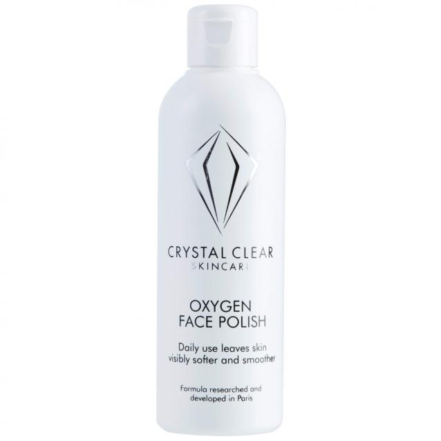 Crystal Clear Skincare Oxygen Face Polish 200ml