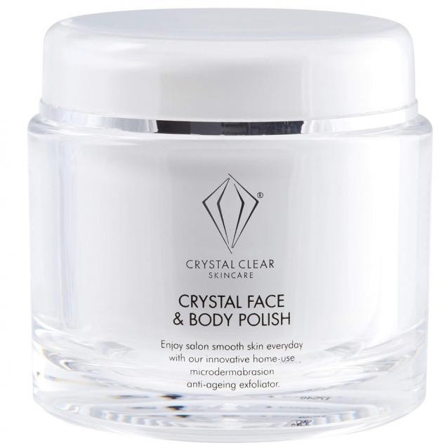 Crystal Clear Skincare Crystal Face And Body Polish 150ml