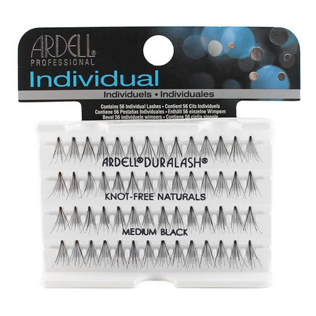 Ardell Individual Knot Free Lashes Medium Black