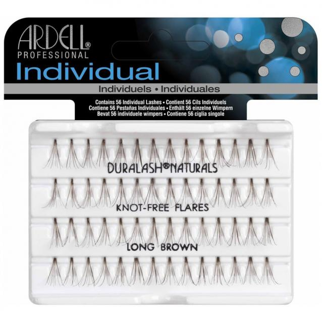 Ardell Individual Knot Free Lashes Long Brown