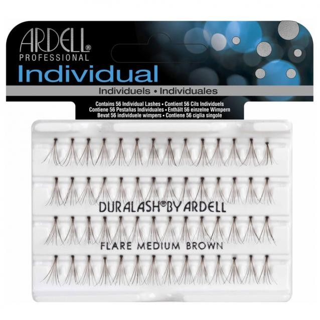 Ardell Individual Flare Lashes Medium Brown
