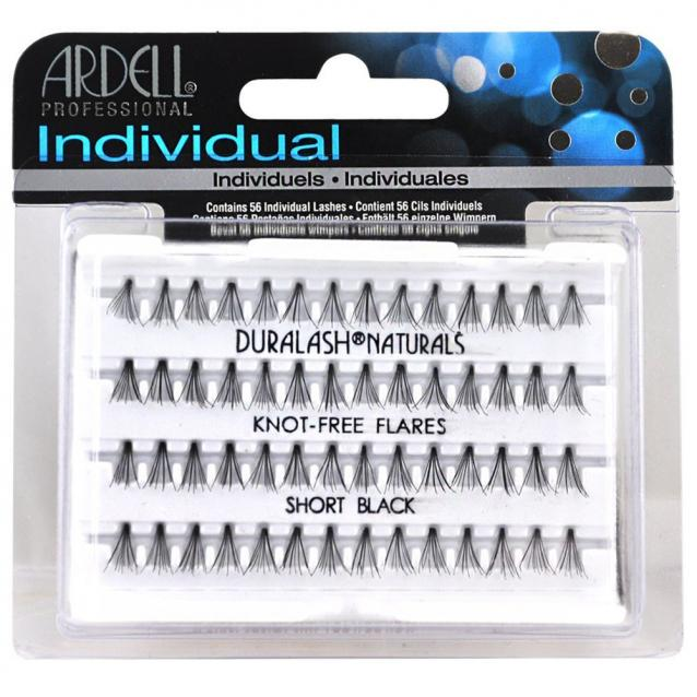 Ardell Individual Knot Free Lashes Short Black