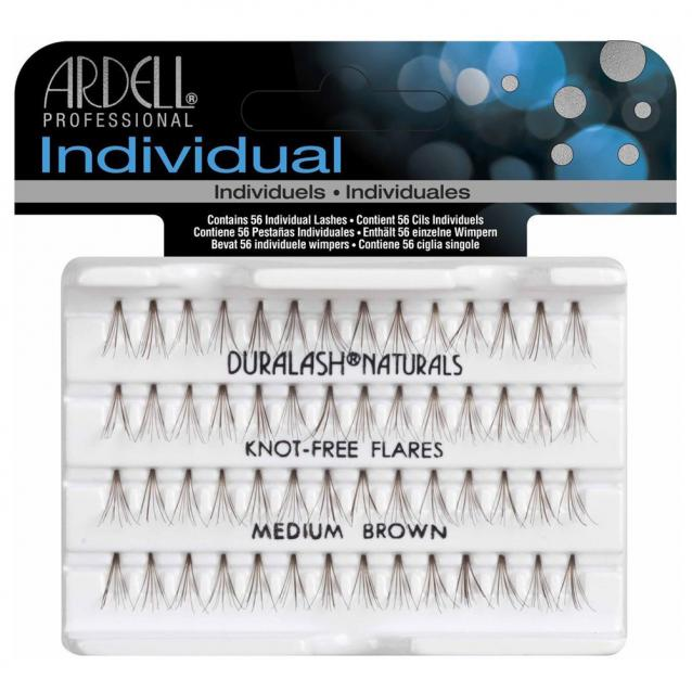 Ardell Individual Knot Free Lashes Medium Brown