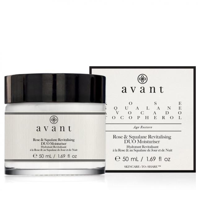 Avant Rose And Squalane Revitalising Duo Moisturiser 50ml