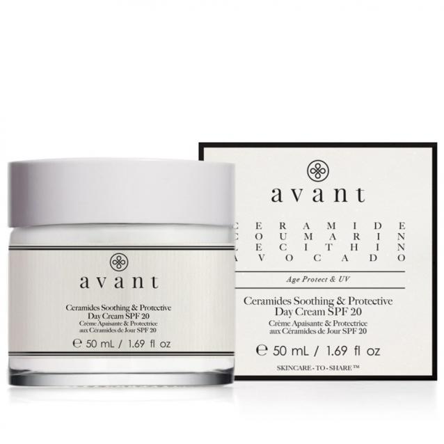 Avant Ceramides Soothing And Protective Day Cream SPF20 50ml