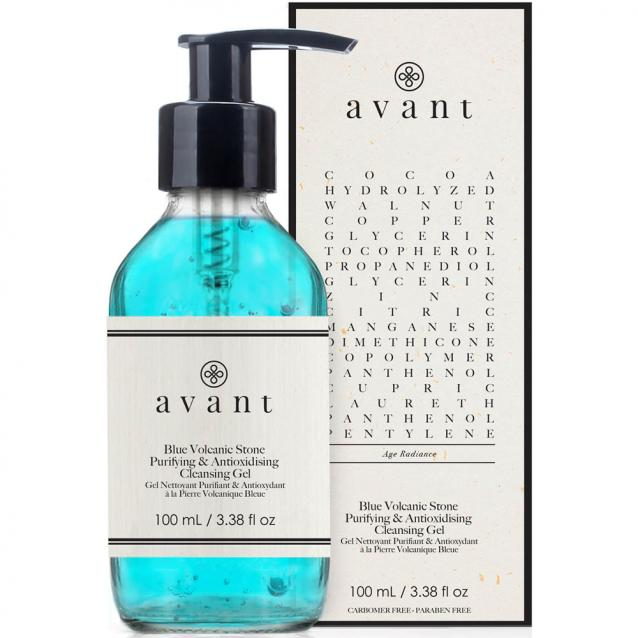 Avant Blue Volcanic Stone Purifying And Antioxydising Cleansing Gel 100ml