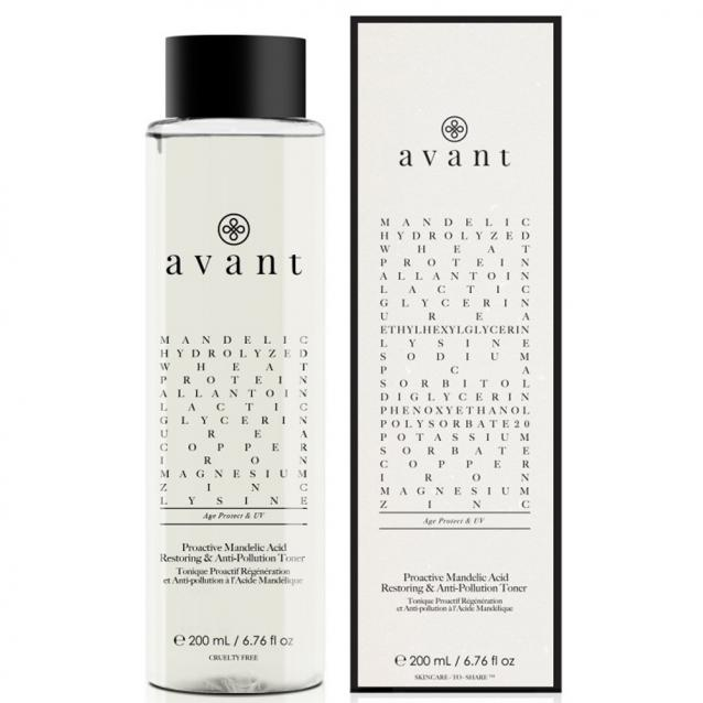 Avant Proactive Mandelic Acid Restoring And Anti-Pollution Toner 200ml