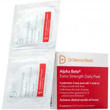 Dr Dennis Gross Alpha Beta Extra Strength Daily Peel 5 Packettes