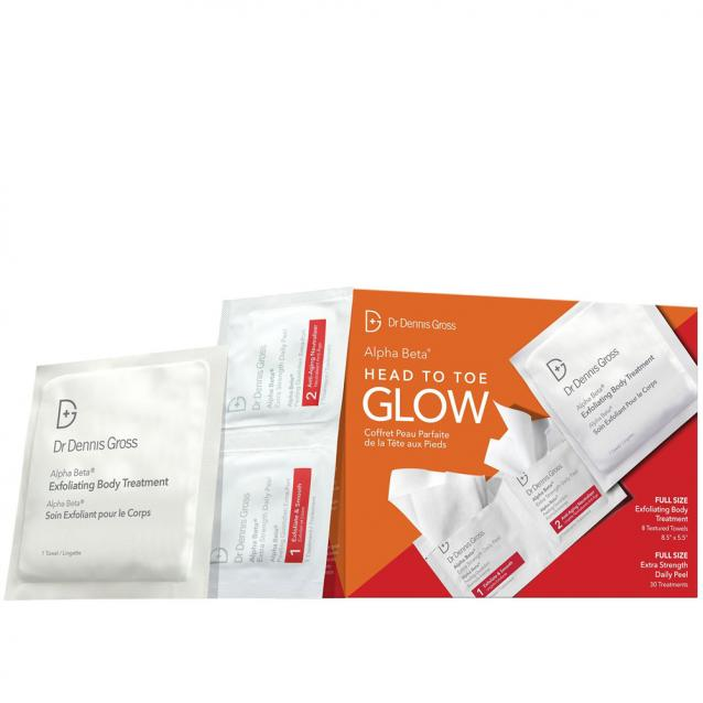 Dr Dennis Gross Head To Toe Glow Gift Set