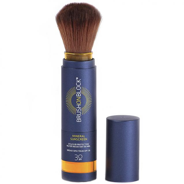 Susan Posnick Brush On Block SPF30 Touch Of Tan Mineral Sunscreen