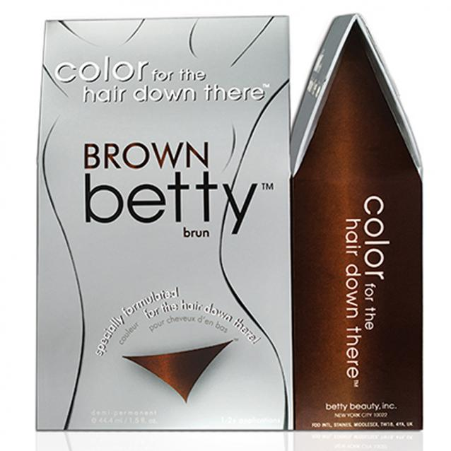 Betty Beauty Brown Pubic Hair Dye