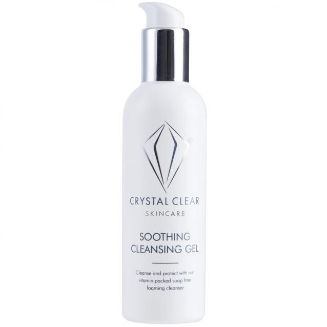 Crystal Clear Soothing Cleansing Gel 400ml Big Pump