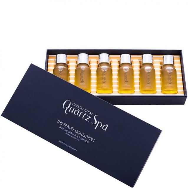 Crystal Clear Quartz Spa The Travel Collection