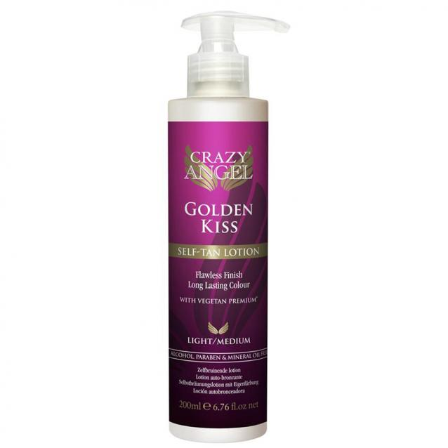 Crazy Angel Golden Kiss Self Tanning Lotion 200ml