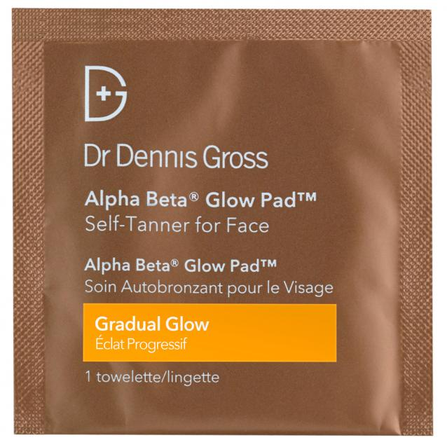 Dr Dennis Gross Alpha Beta Glow Pad Gradual Glow For Face 20 Pads