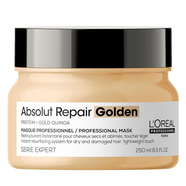 Loreal Professionnel Absolut Repair Resurfacing Golden Masque 250ml