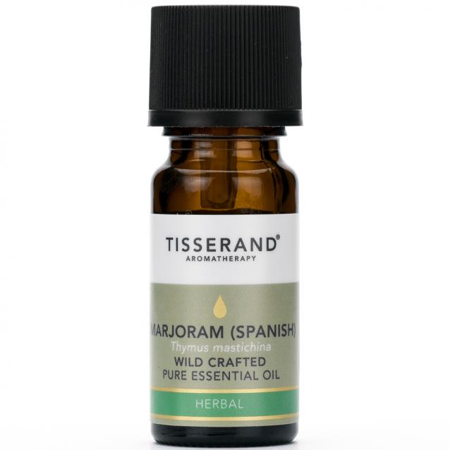 Tisserand Marjoram Spanish Wild Crafted Essential Oil 9ml