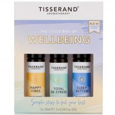 Tisserand Aromatherapy The Little Box Of Wellbeing Roller Ball Kit