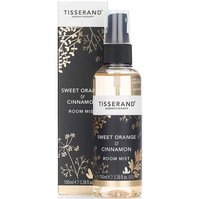 Tisserand Sweet Orange And Cinnamon Room Mist 100ml