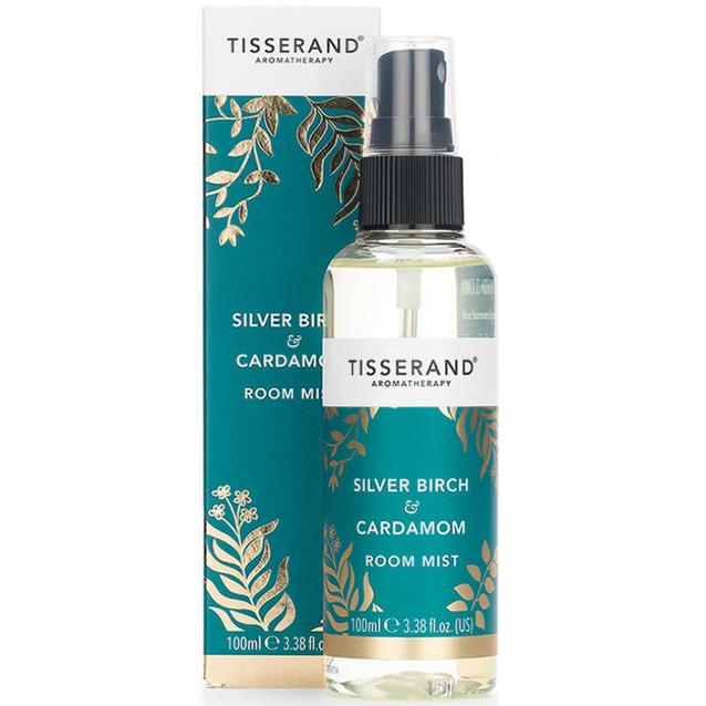 Tisserand Silver Birch And Cardamom Room Mist 100ml