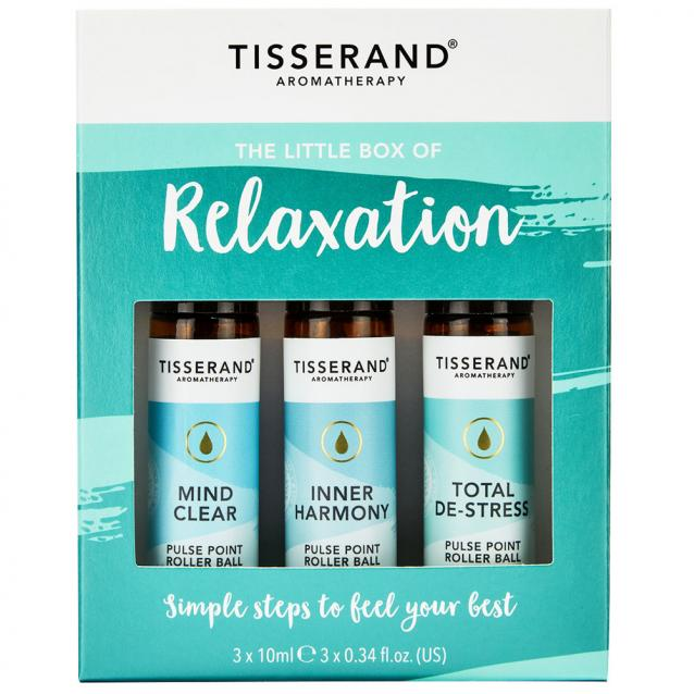 Tisserand The Little Box Of Relaxation Roller Ball Kit