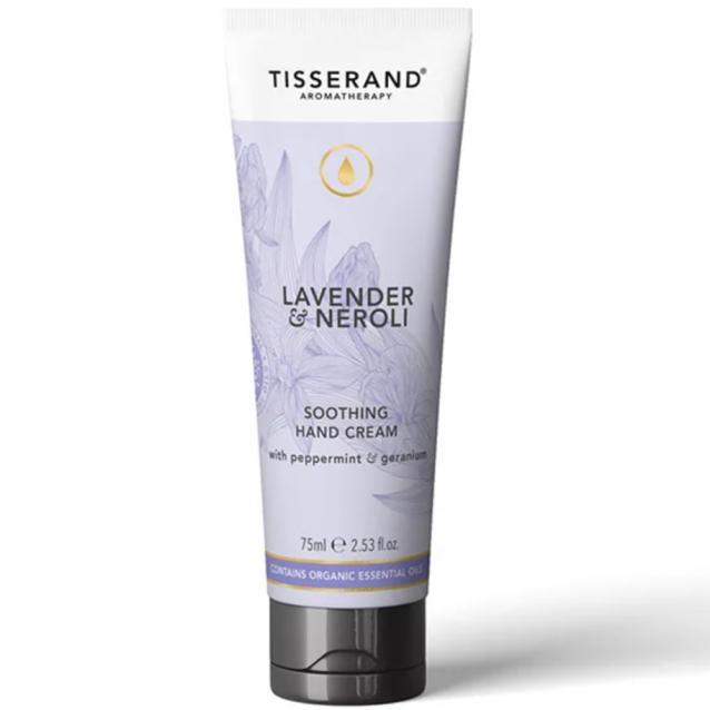 Tisserand Lavender And White Mint Hand Cream 75ml