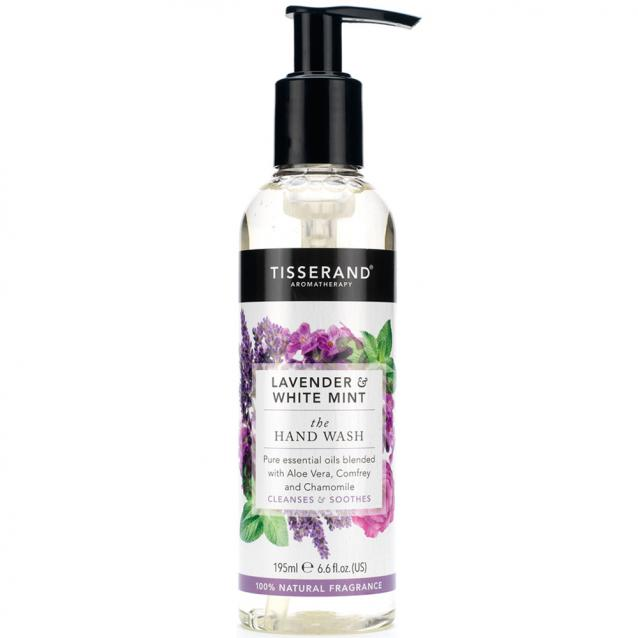 Tisserand Lavender And White Mint Hand Wash 195ml