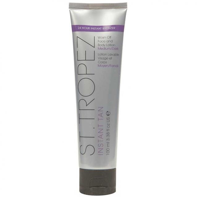 St Tropez Instant Tan Face And Body Lotion Medium To Dark 100ml