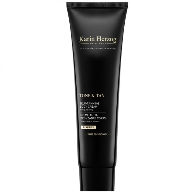Karin Herzog Tone And Tan Anti Cellulite Self Tanning Cream 150ml