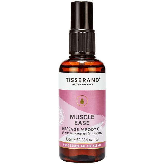 Tisserand Muscle Ease Massage And Body Oil 100ml