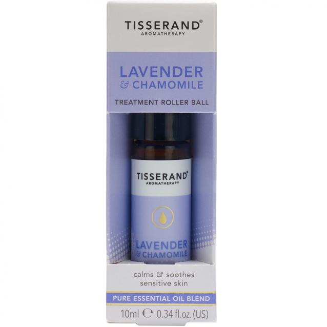 Tisserand Aromatherapy Lavender And Chamomile Essential Oil Roller Ball 10ml