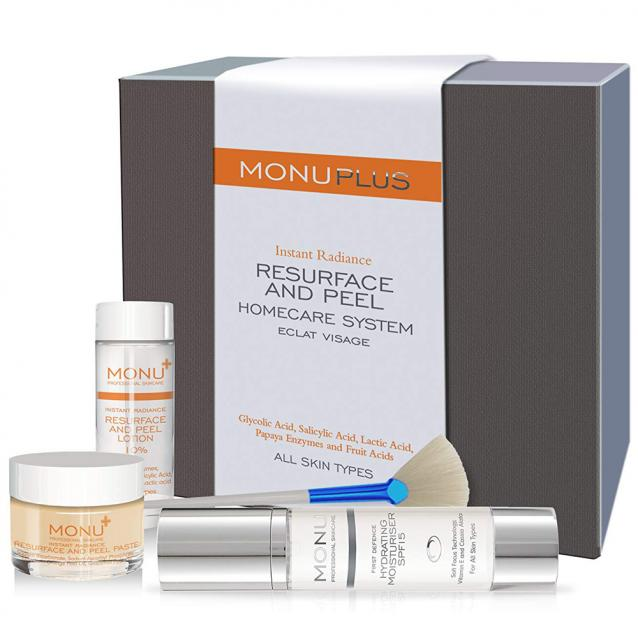 Monu Resurface And Peel Homecare System