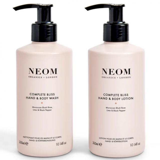 Neom Complete Bliss Hand Wash And Lotion Duo