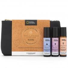 Tisserand National Geographic Wellbeing Escape Roller Ball Collection