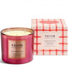 Neom Christmas Wish Scented Candle 3 Wick