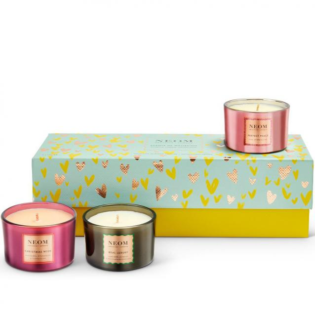 Neom Scents Of Wellbeing Scented Candle Collection