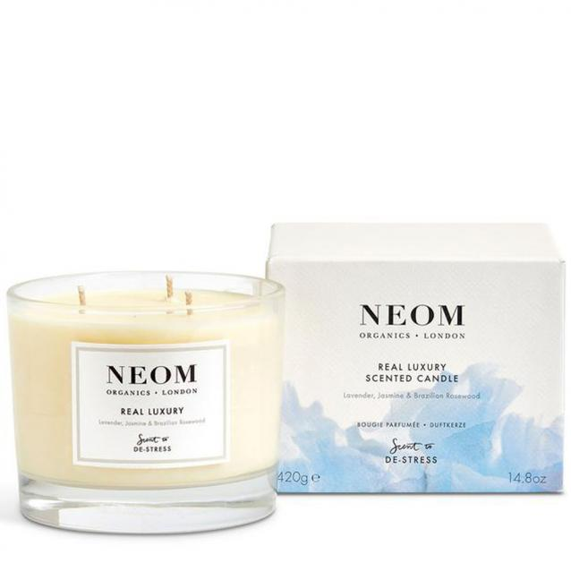 Neom Real Luxury Scented Candle 3 Wick