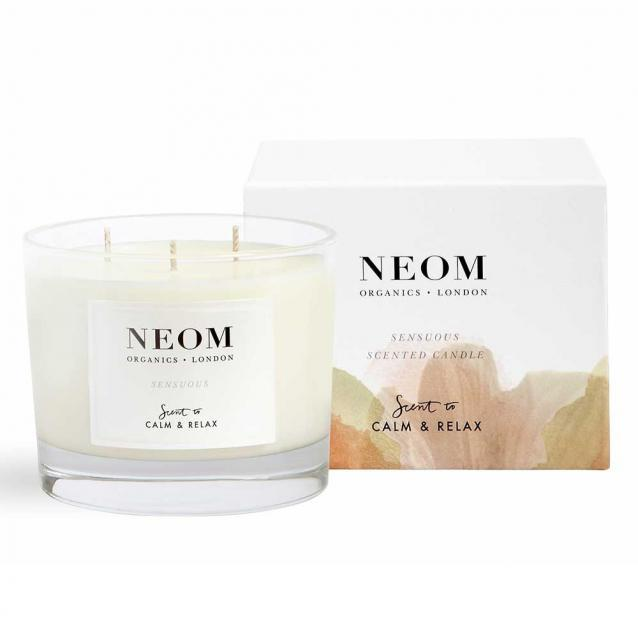 Neom Sensuous Scented Candle 3 Wick