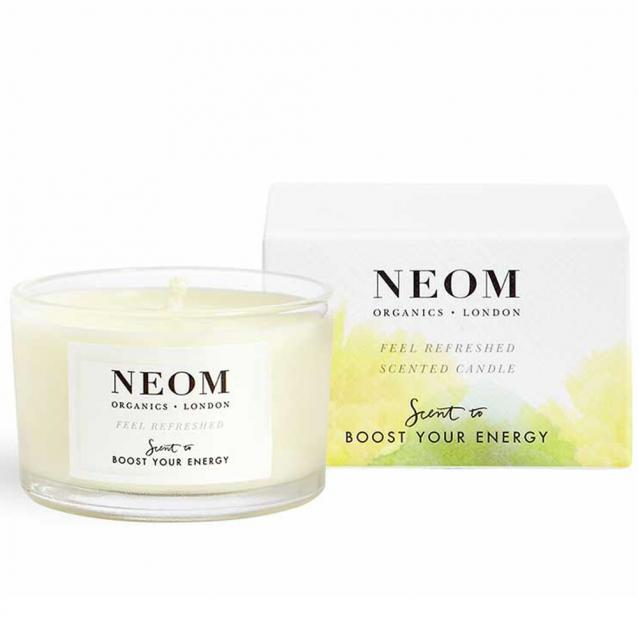 Neom Travel Candle Feel Refreshed