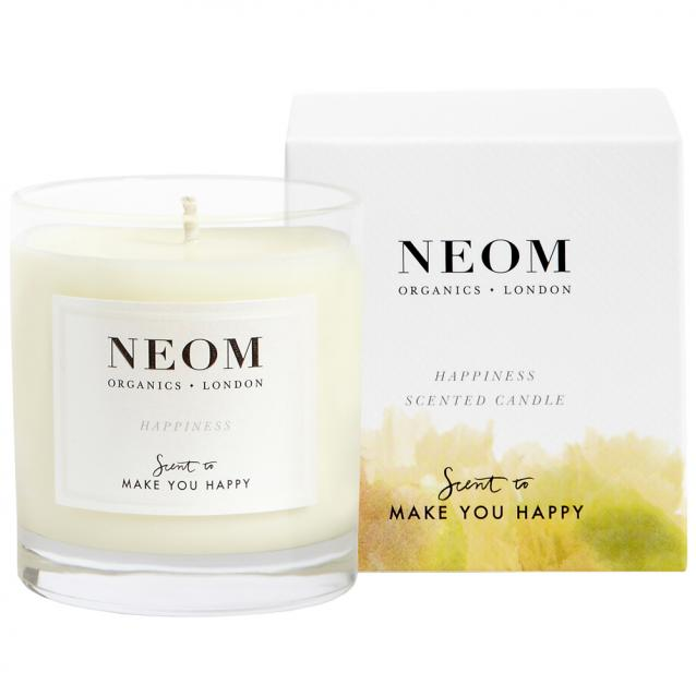 Neom Happiness Scented Candle 1 Wick
