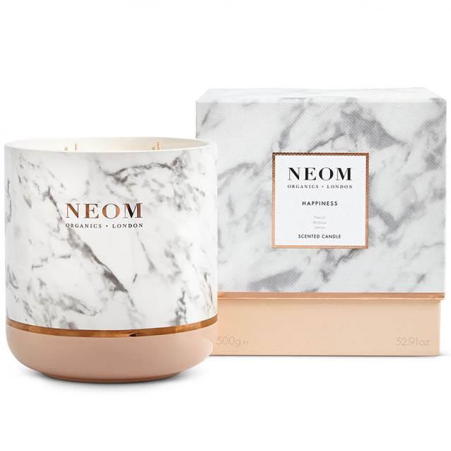 Neom Happiness Ultimate Scented Candle 4 Wick