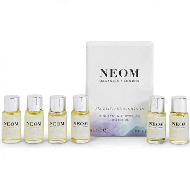 Neom Six Blissful Nights In Bath And Shower Oil 6 x 5ml