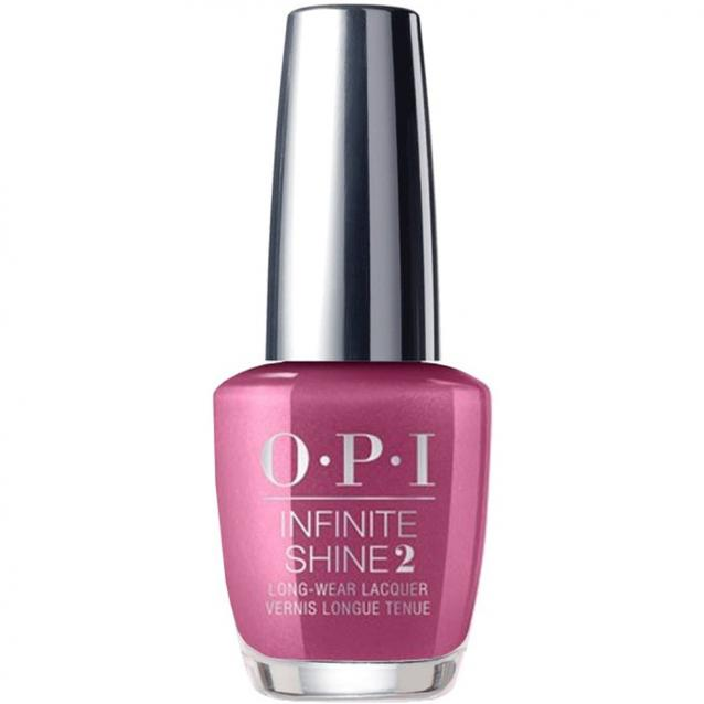 Opi Infinite Shine A Rose At Dawn Broke By Noon