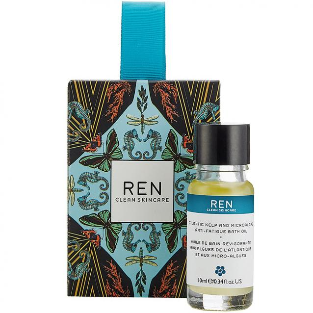 Ren Atlantic Kelp And Magnesium Bath Oil Stocking Filler 15ml